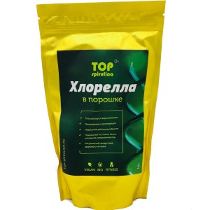 Хлорелла порошок 250 гр TOP spirulina