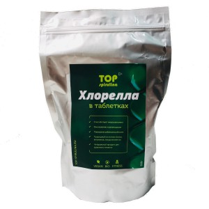 Хлорелла таблетки 500 гр TOP spirulina
